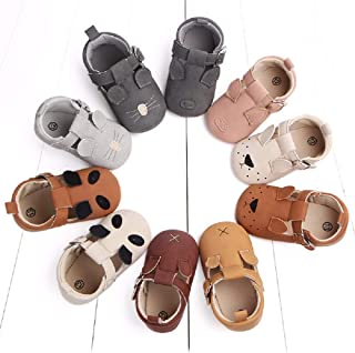 Save Beautiful Unisex Infant Baby Girls Boys Slippers Toddler Cute Animals Cartoon First Walkers Loafer Shoes