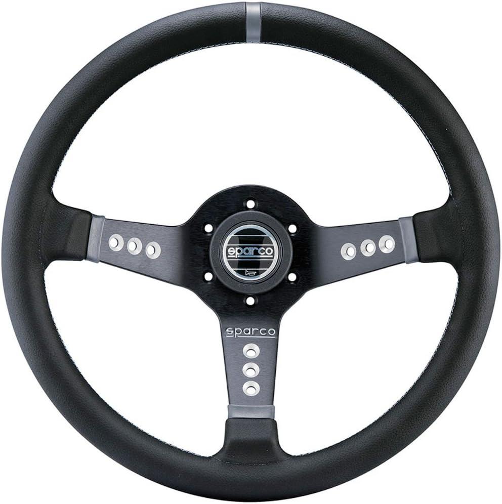 Sparco 015L800PL Steering Wheel Max 76% OFF Strwhl L777 Bargain Black Leather