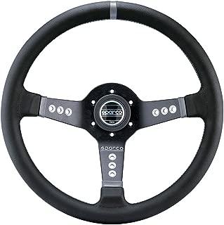 Sparco 015L800PL Steering Wheel (Strwhl L777 Leather Black)