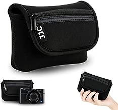 Compact Digital Camera Pouch Case JJC for Sony RX100 VI V IV III II Fujifilm Fuji XF10 Olympus TG-5 TG-4 TG-3 Canon G7X Mark II SX720 Panasonic TS30 Ricoh GR II up to 4.4×2.6×1.5