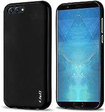 J&D Compatible para Huawei Honor View 10 Funda, [Cojín Fino] [Parachoques Ligero] [Protección contra Caídas] Resistente Funda TPU Protectora para Huawei Honor View 10 - Negro