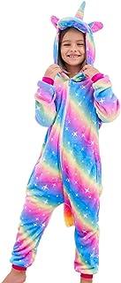 Pijama de unicornio para niñas, disfraz de animal para niñ