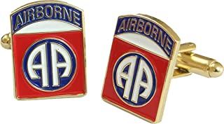 82nd airborne cufflinks