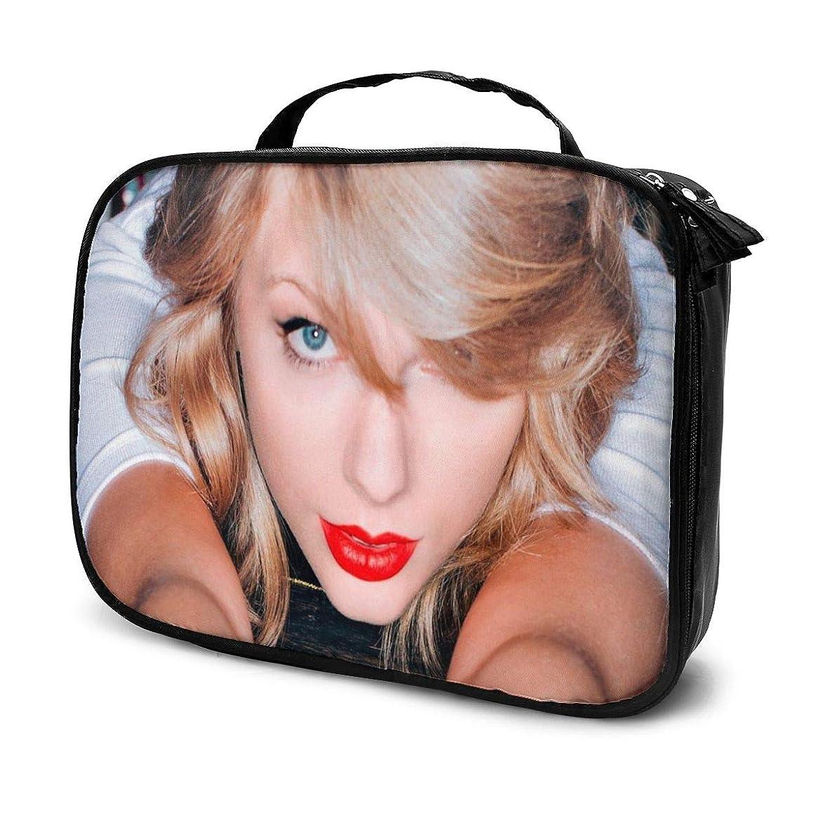 大使過剰運搬化粧ポーチ テイラースウィフトTaylor Swift 女性化粧品バッグ ビューティー メイク道具 フェイスケアツール 化粧ポーチメイクボックス ホーム、旅行、ショッピング、ショッピング