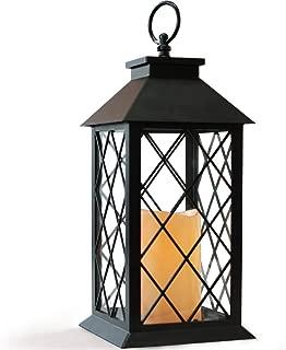 black wall candle lanterns