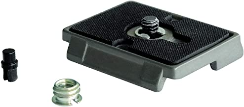 """Manfrotto 2x 200PL RC2-System Quick Release Plate with 1/4""""-20 Screw and 3/8"""" Bushing Adapter"""