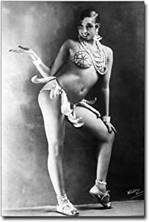 Josephine Baker Banana Skirt 8x12 Silver Halide Photo Print