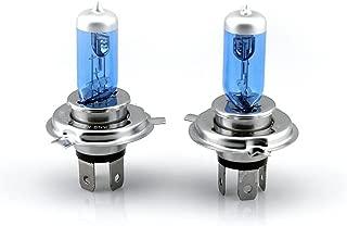 Xenon HID Hyper H4 Headlight Blue/White Bulbs Lights for Kawasaki KLR 650 250 KLR650 KLR250 1987-2007
