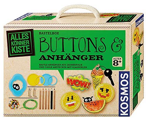 KOSMOS 604264 - Buttons und Anhänger Bastelset