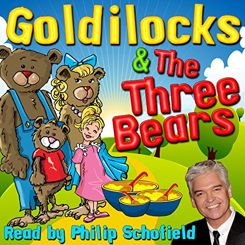 Goldilocks & The Three Bears audiobook cover art