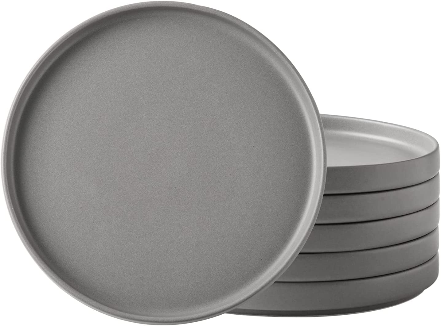 AmorArc Ceramic Salad Plates Set Quality Luxury inspection Of set dishes Desert Inch 8 6