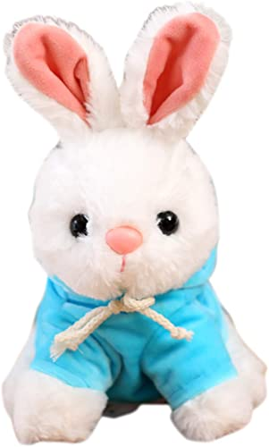 lowest Plush Hugging Pillow Cute Stuffed Animal Toy Gifts lowest for Birthday, online Valentine, Christmas, Stuffed Rabbit Plush Toy Pillow, Cute Plush Soft Pillow Hugging Doll, Gift for Girl Boy Adults, 9.8 Inch outlet online sale