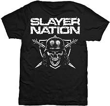 Rockoff Trade Slayer Men's Slayer Nation T-shirt, Black, Medium