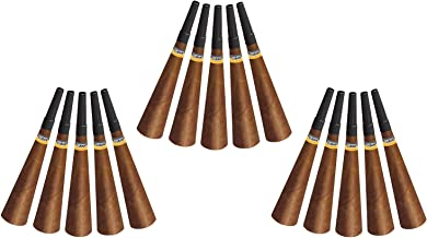 Beistle Cigar Horns | Birthday, New Years Party Favors, Blowouts (15 Count)
