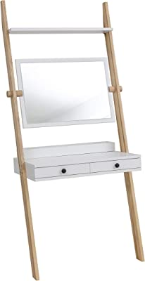 RAGABA Leno Schminktisch, Wood, Weiß, 78x49x183