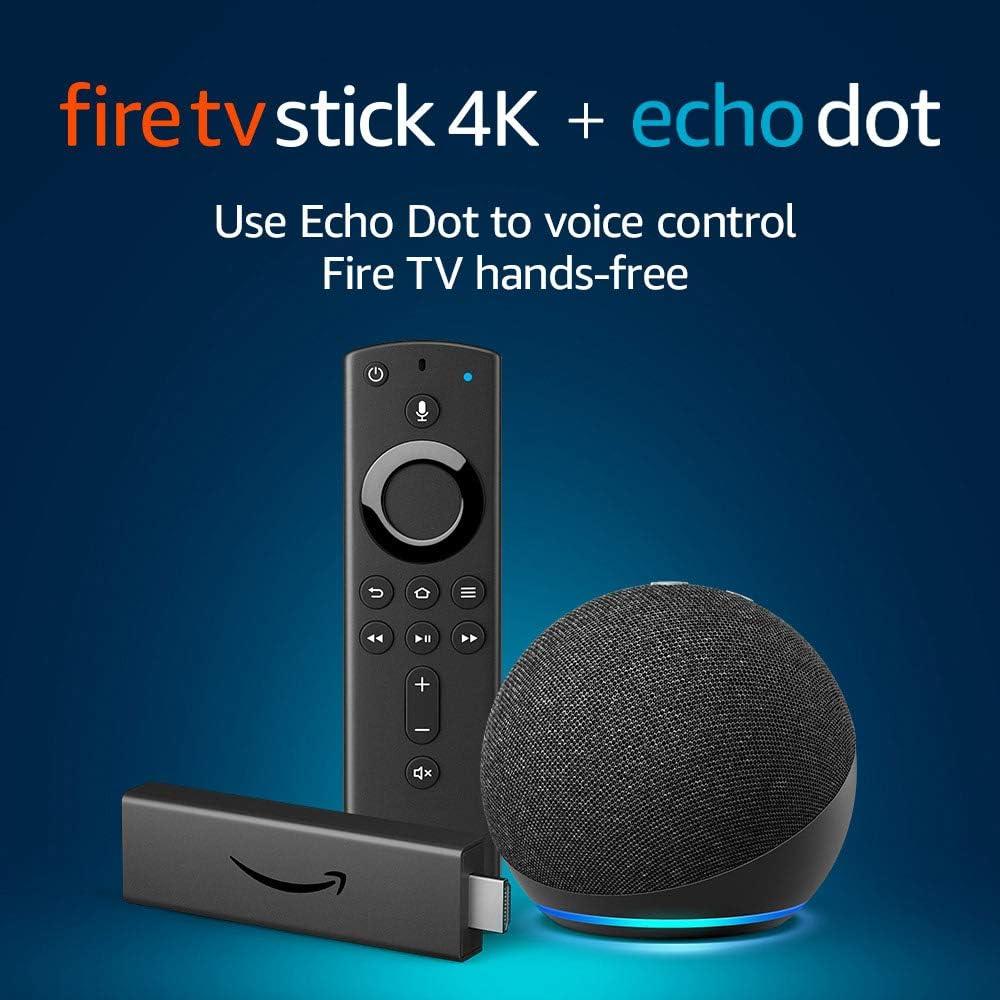 Fire TV Stick 4K + Echo Dot