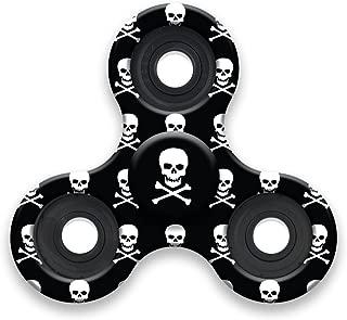TOP TRENZ High Speed & Longest Spin Time Spinner Squad Fidget Spinners (Skulls)