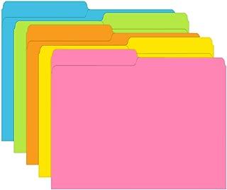 Top Notch Teacher Products TOP336 Brite Colors File Folders, 0.6