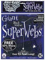 スパイダーウェブ ホームデコレーション用小物 ブラック