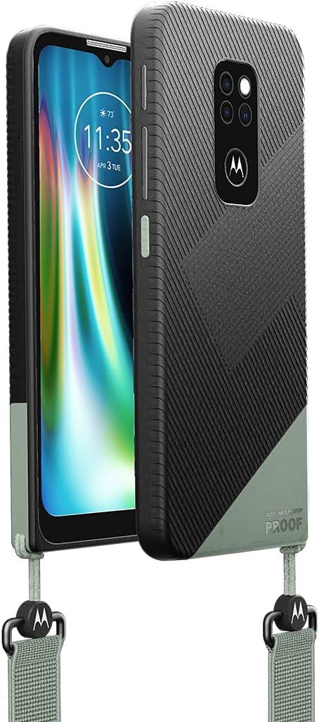 "Motorola Rugged Defy Rugged Smartphone (6.5"" HD+ Display, IP69/IP68, Qualcomm Snapdragon, 48MP Triple Camera System, 5000 mAH Battery, Dual SIM,…"