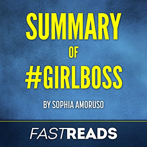 Summary of #GIRLBOSS: by Sophia Amoruso | Includes Key Takeaways & Analysis audiobook cover art