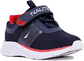 Nautica Kids Fashion Sneaker Athletic Running Shoe with One Strap|Boys-Girls| (Toddler/Little Kid)