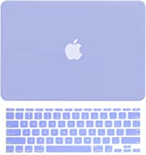 TOP CASE - 2 in 1 Signature Bundle Rubberized Hard Case and Matching Color Keyboard Cover Compatible MacBook Air 11