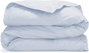 Martex Atelier Sateen Duvet Cover, Full/Queen, Powder Blue