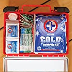 Be Smart Get Prepared First Aid Kit, 250 Piece Set 1 Count 13 250 pieces of comprehensive first aid treatment products. Manufactured by the leading manufacturer of First Aid Kits in the USA. Meets or exceeds OSHA and ANSI 2009 guidelines for 50 people. Ideal for most businesses and perfect for family use at home. Fully organized interior compartments provides quick access. Rugged, sturdy hard plastic case is impact resistant