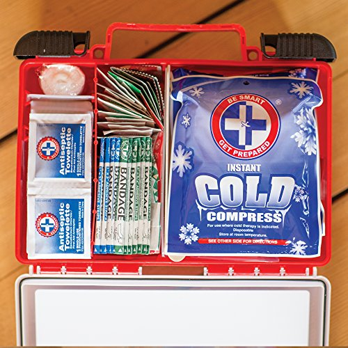 Be Smart Get Prepared First Aid Kit, 250 Piece Set 1 Count