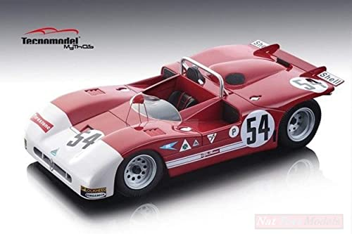 alta calidad TECNOMODEL TMD1850A TMD1850A TMD1850A Alfa Romeo T33 3 N.54 1971 DE ADAMICH-PESCAROLO 1 18 DIECAST  muchas sorpresas