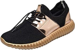 Lanchengjieneng Femmes Plateforme De Marche Chaussures Dames Sports Fitness Gym Orthop/édie Baskets Compens/és Blanc EU 35