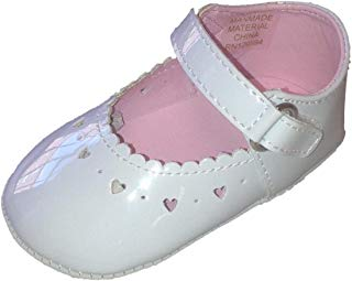 BIG OSHI Baby Girls' Mary Jane Baby Shoes - 016