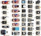 DEYUE Módulo de sensor 38 en 1 para proyectos de electrónica Arduino.
