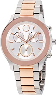 Bold Quartz Movement Silver Dial Ladies Watch 3600547