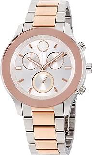 Bold Quartz Movement Silver Dial Ladies Watch 3600547