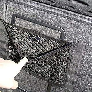 ELECTROPRIME 1x Car Back Rear Trunk Seat Elastic String Net Mesh Storage Bag Pocket Cage Kit