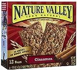 Nature Valley Cinnamon Granola Bars, 6 ct