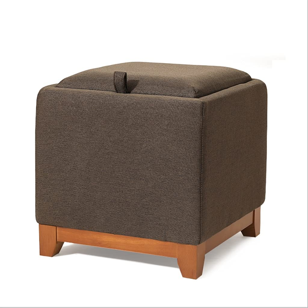 ZHONGTAI Ottoman Max 44% OFF Cube Storage with End Tray sale Coffee Side