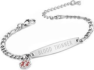 medical bracelet blood thinner