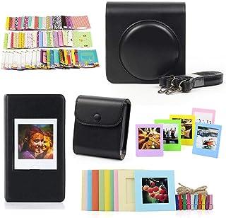 Camera Bag BZN Crystal Case de Protection Shell avec Sangle for FUJIFILM Instax Square SQ6 Transparent Couleur : Transparent