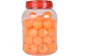 Winmax Table Tennis Balls - Yellow Pack of 60