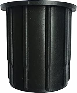 QIQIHOME Patio Umbrella Parasol Base Stand Hole Ring Plug Cover Cap 2.1 - inch (Black)