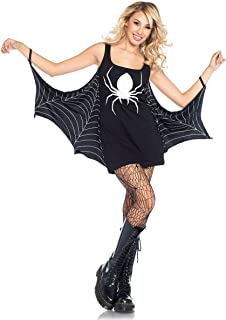 Women's Spiderweb Casual Halloween Jersey Dress