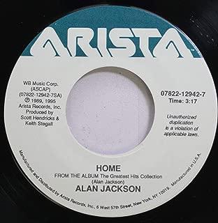 Alan Jackson 45 RPM home / i''ll try