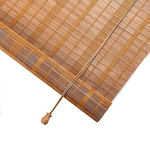 Bambus Roll Up Window Blind Sonnenschutz Licht Filterung Rollläden für Balkon / Garten / Outdoor / Indoor, anpassbar-120 x 160 cm