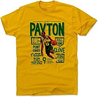 500 LEVEL Gary Payton Shirt - Vintage Seattle Basketball Men's Apparel - Gary Payton Position