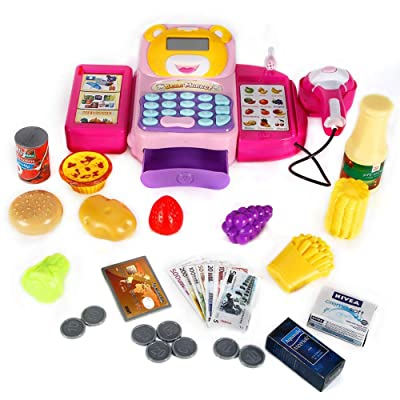 FunsLane Cash Register for Kids Pretend Play To...