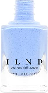 ILNP Bluebird - Perano Blue Speckled Nail Polish, Chip Resistant, 7-Free, Non-Toxic, Vegan, Cruelty Free, 12ml