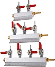 Ventielen, kleppen, fittingen 2/3/4 Way bierbrouwen gasverdeelleiding CO2 Verdeler Splitter Beer Integrated terugslagklepp...